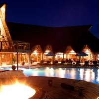 flamingo bay water lodge >Mozambique
